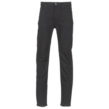 Kleidung Herren Slim Fit Jeans Lee RIDER Schwarz