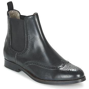 Chaussures Femme Boots Hudson ASTA CALF Black