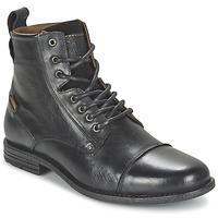 Chaussures Homme Boots Levi's EMERSON LACE UP Noir