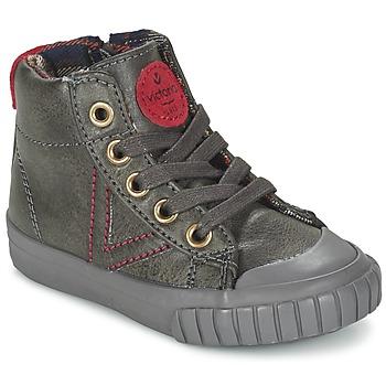 Chaussures Baskets basses Victoria BOTA NAPA PU Gris
