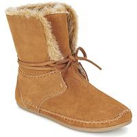 Schuhe Damen Boots Toms ZAHARA Braun