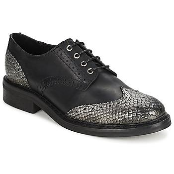 Chaussures Femme Derbies Koah LESTER Black / Silver