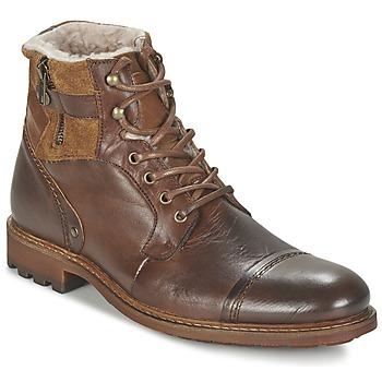 Schuhe Herren Boots Casual Attitude FIRDAOUS Braun,