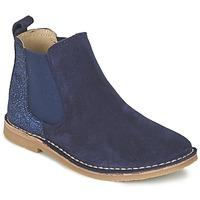 Schuhe Mädchen Boots Citrouille et Compagnie FIGOULI Blau