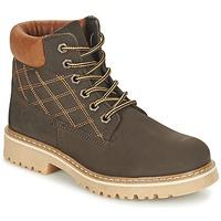 Chaussures Garçon Boots Citrouille et Compagnie FINALO Marron