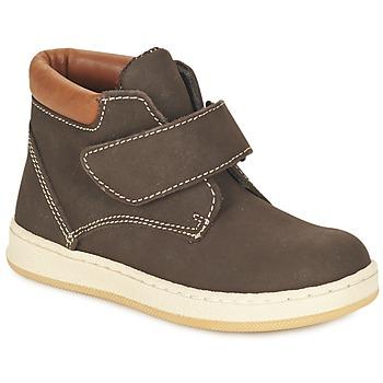 Schuhe Jungen Boots Citrouille et Compagnie FREMOULI Braun,