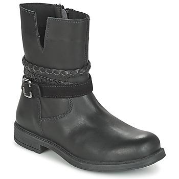Schuhe Mädchen Boots Citrouille et Compagnie FURAMO Schwarz
