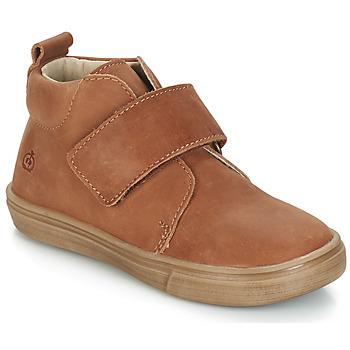 Chaussures Garçon Boots Citrouille et Compagnie FOJAMO Camel