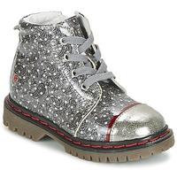 Chaussures Fille Boots GBB NEVA Gris / Imprimé