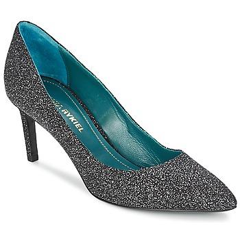 Schuhe Damen Pumps Sonia Rykiel 677620 Schwarz / Glitterfarbe