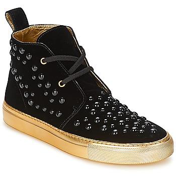 Schuhe Damen Sneaker High Sonia Rykiel 670183 Schwarz