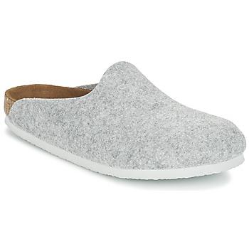 Chaussures Femme Sabots Birkenstock AMSTERDAM Gris Clair