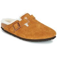 Schuhe Damen Pantoletten / Clogs Birkenstock BOSTON Braun,