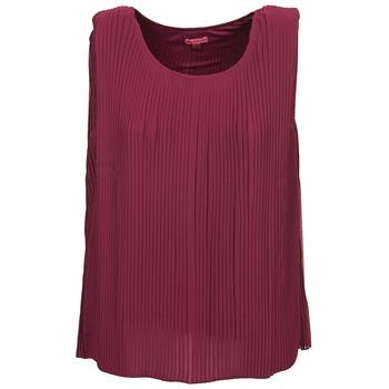 Kleidung Damen Tops / Blusen Bensimon REINE Pflaume