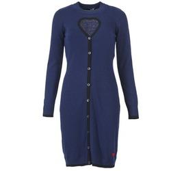 Kleidung Damen Kurze Kleider Love Moschino PESCARI Marineblau
