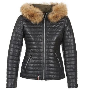 Kleidung Damen Daunenjacken Oakwood 61677 Schwarz