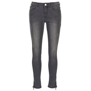 Kleidung Damen Slim Fit Jeans Moony Mood IFABANE Grau