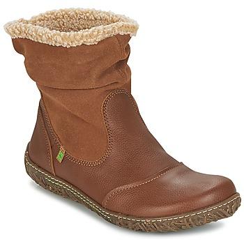 Schuhe Damen Boots El Naturalista NIDO Braun,