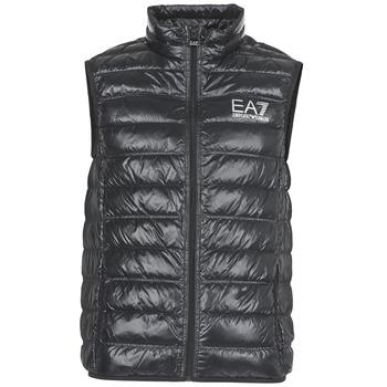 Abbigliamento Uomo Piumini Emporio Armani EA7 ONAFRATO Nero
