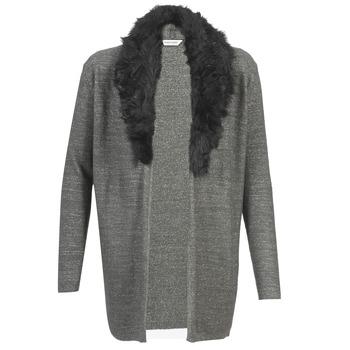 Abbigliamento Donna Gilet / Cardigan Naf Naf NESTOR Antracite
