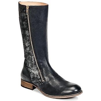 Chaussures Femme Bottes ville Kickers PENNYHO Noir Brillant