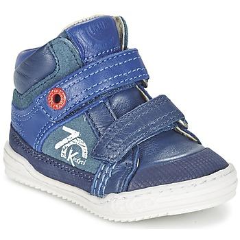 Schuhe Jungen Sneaker High Kickers JINJINU Blau