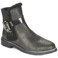Schuhe Damen Boots Fericelli FADEN Schwarz