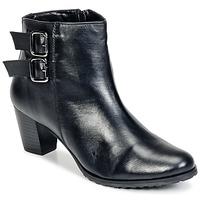 Schuhe Damen Low Boots Balsamik GOMALO Schwarz
