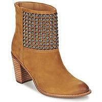 Schuhe Damen Low Boots Dumond GUOUZI Braun