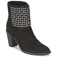 Schuhe Damen Low Boots Dumond GUOUZI Schwarz
