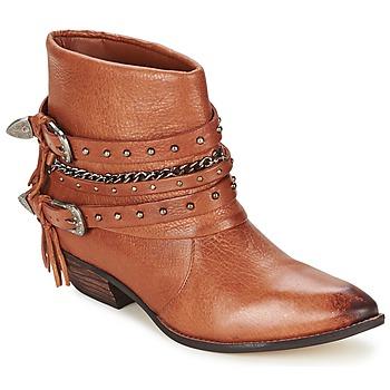 Schuhe Damen Boots Dumond ZIELLE Braun