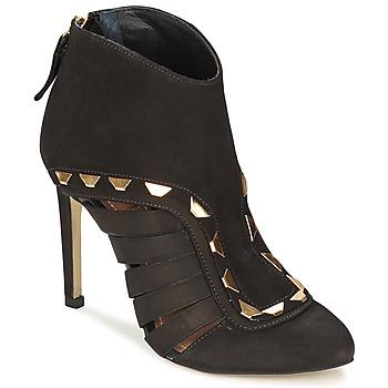 Schuhe Damen Ankle Boots Dumond ELOUNE Schwarz