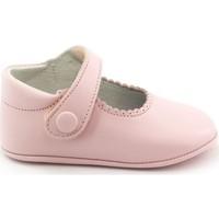Chaussures Fille Chaussons bébés Boni & Sidonie Boni Thérèse - Chaussons bébé cuir souple Rose