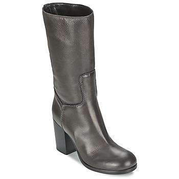 Schuhe Damen Klassische Stiefel JFK TAMP Grau
