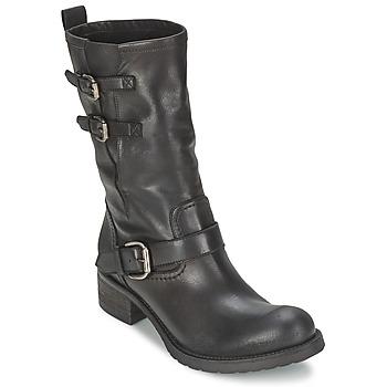 Schuhe Damen Boots JFK GUANTP Schwarz
