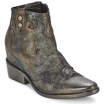 Schuhe Damen Low Boots Strategia XIOT Grau