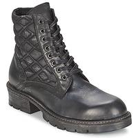 Schuhe Damen Boots Strategia BOMBER Schwarz