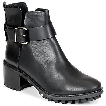 Schuhe Damen Boots Miista GRETA Schwarz