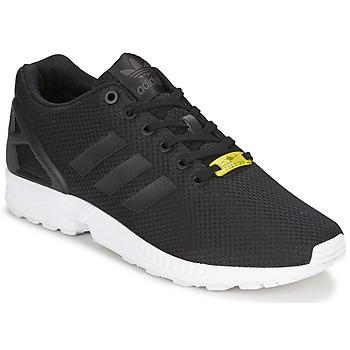 Schuhe Herren Sneaker Low adidas Originals ZX FLUX Schwarz / Weiss