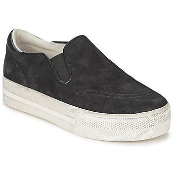 Chaussures Femme Slip ons Ash JUNGLE Noir
