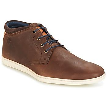 Schuhe Herren Sneaker High Casual Attitude CALER Braun,