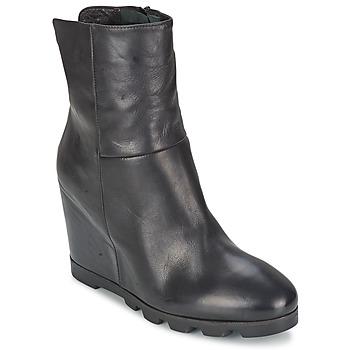 Schuhe Damen Low Boots OXS IGLOO Schwarz