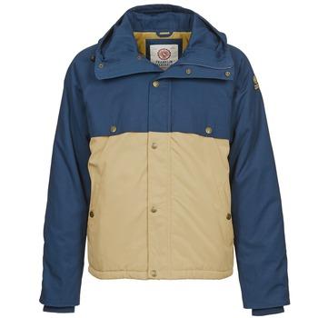 Abbigliamento Uomo Parka Franklin & Marshall JKMVA034 Blu / Beige