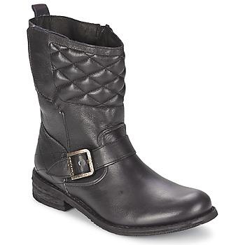 Schuhe Damen Boots Felmini GREDO ELDO Schwarz