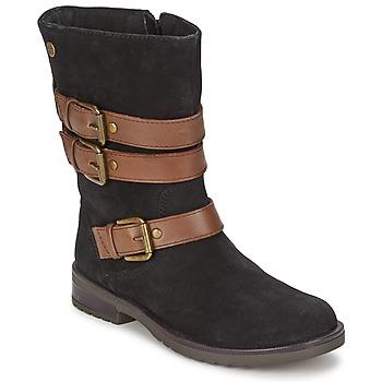 Schuhe Mädchen Klassische Stiefel Gioseppo HALIFAX Schwarz