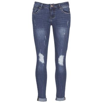Abbigliamento Donna Jeans slim Yurban IFOUNOLE Blu / Medium