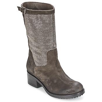 Chaussures Femme Bottes ville Now DOUREL Gris