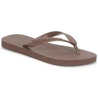 Schuhe Zehensandalen Havaianas TOP Braun,
