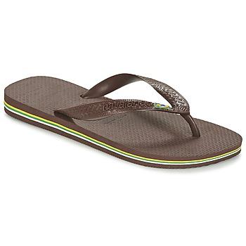 Chaussures Tongs Havaianas BRASIL Marron