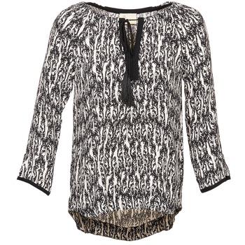 Vêtements Femme Tops / Blouses Stella Forest BTU010 Ecru / Noir